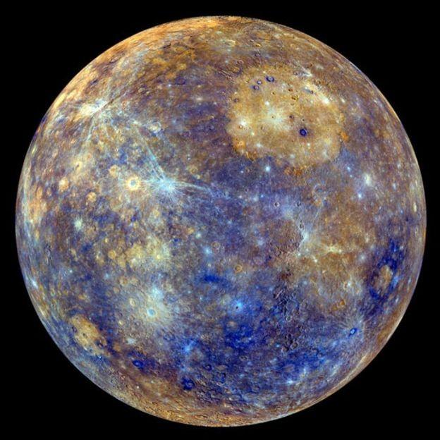 Assim como a Terra, Mercúrio tem um campo magnético, mas bem mais fraco (Foto: NASA/Via BBC News Brasil)