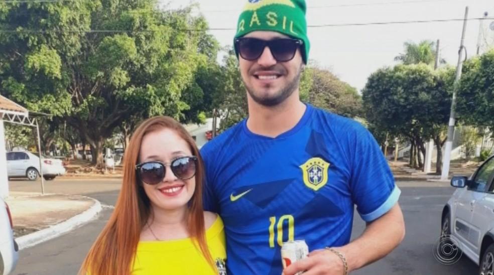 Vítima de 29 anos foi estrangulada pelo namorado após festa de carnaval — Foto: Reprodução/TV TEM