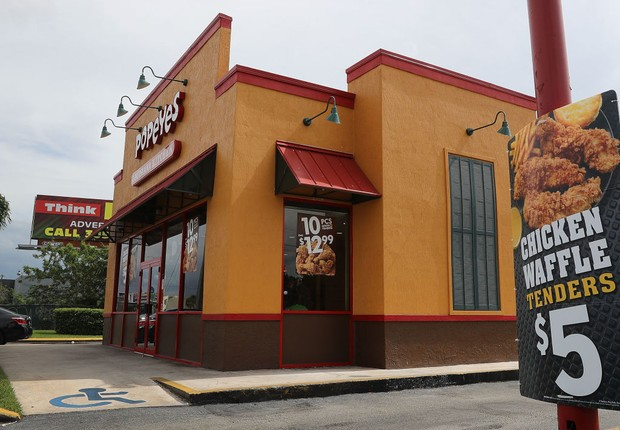 Rede de restaurantes americana Popeyes  (Foto:  Joe Raedle/Getty Images)