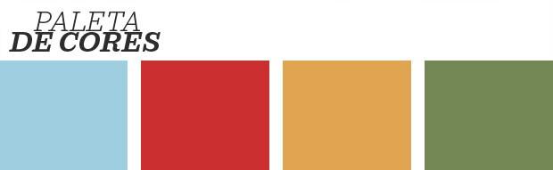 Décor do dia: sala de jantar boho e cheia de cores (Foto: Reprodução)