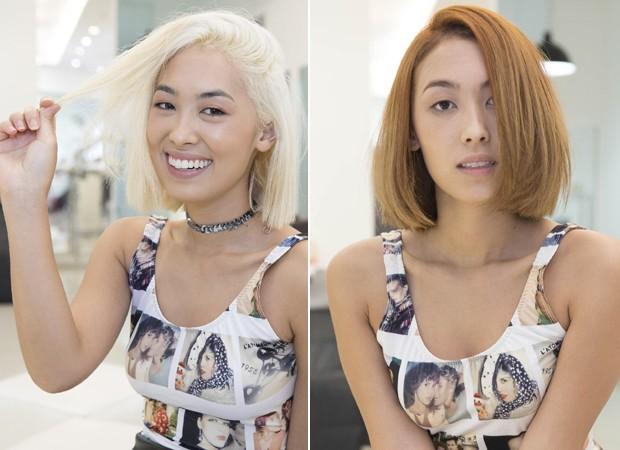 Antes e depois: Ana Hikari (Foto: Divulgação)