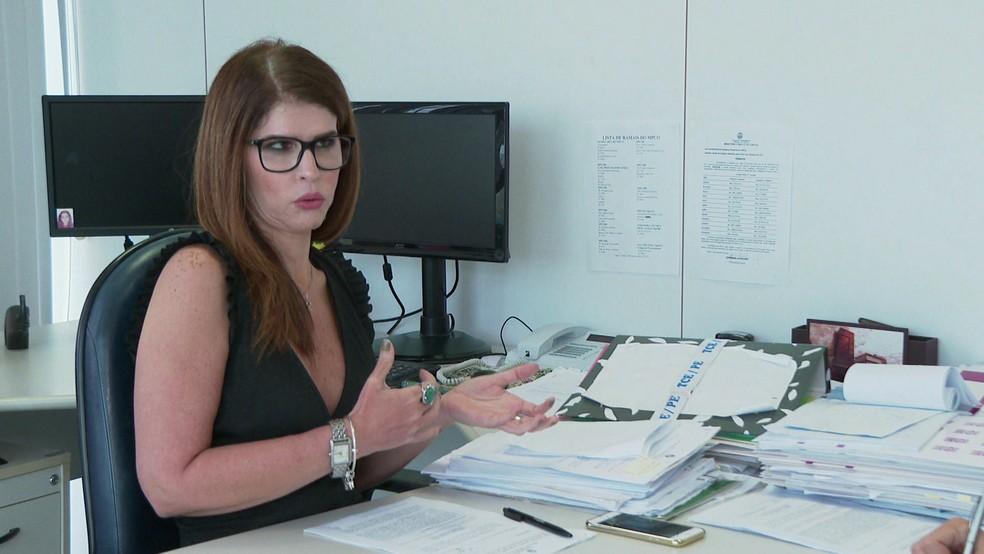 Germana Laureano é procuradora-geral do TCE em Pernambuco — Foto: Reprodução/TV Globo