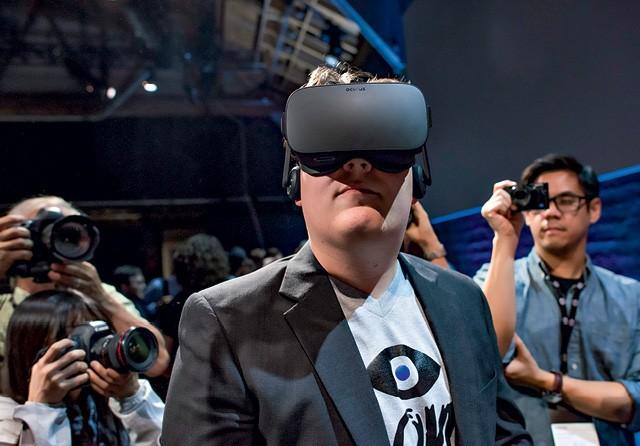 Luckey criou o Oculus Rift motivado por seu amor aos games. Agora, dedica-se a desenvolver um sistema de vigilância e defesa (Foto: David Paul Morris/Bloomberg/ getty images )