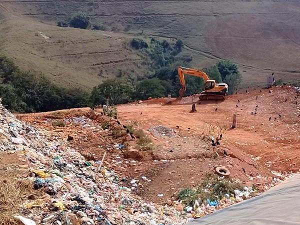 Prefeitura de Muriaé inicia obras de expansão de aterro sanitário