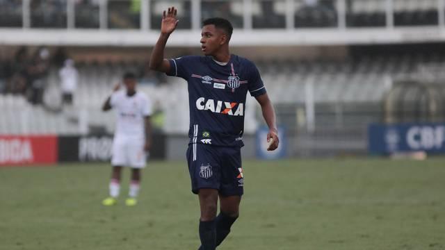 Rodrygo, Santos x Vitória