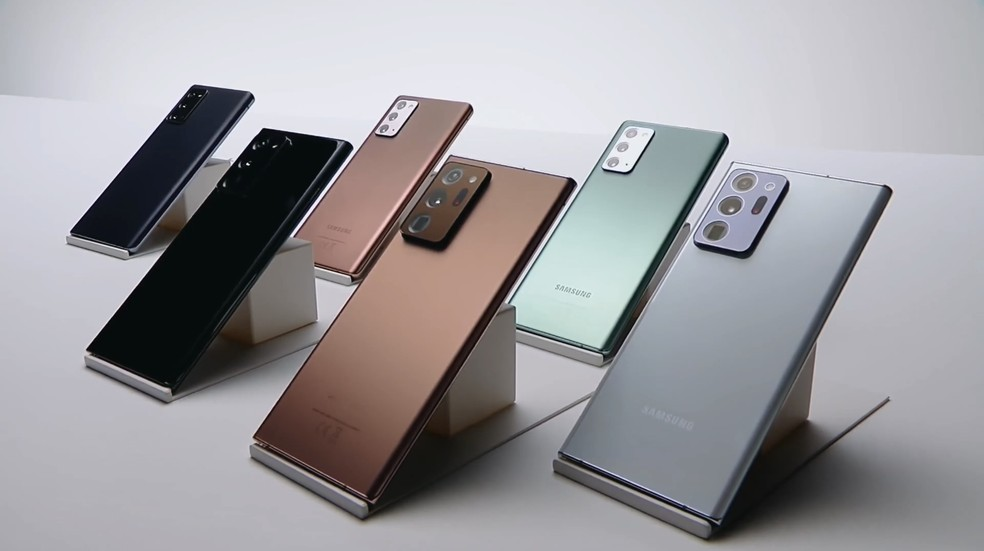 Galaxy Note 20 chegou com tecnologia UWB — Foto: Reprodução/Samsung