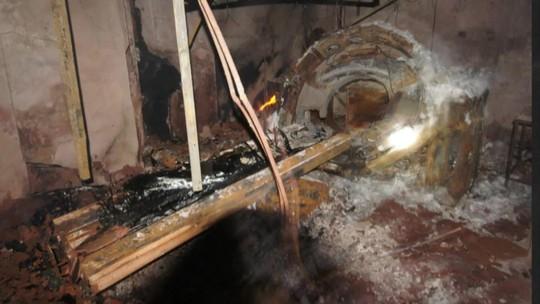 Imagens mostram destruição dentro de hospital que pegou fogo no Rio de Janeiro