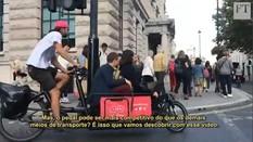 Uso de bicicleta como táxi pode competir com Uber?