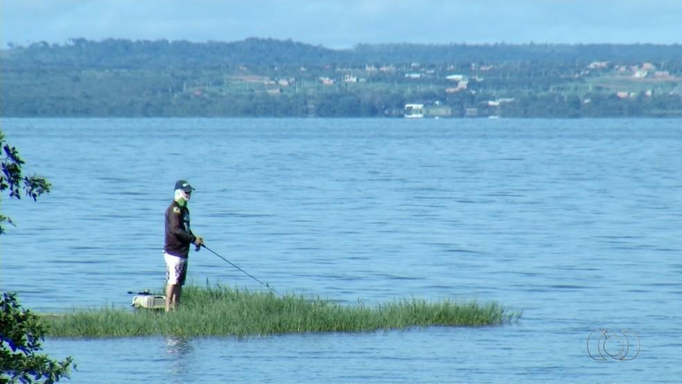 Transporte de peixes vai ficar proibido durante três anos no Tocantins (Foto: Reprodução/TV Anhanguera)