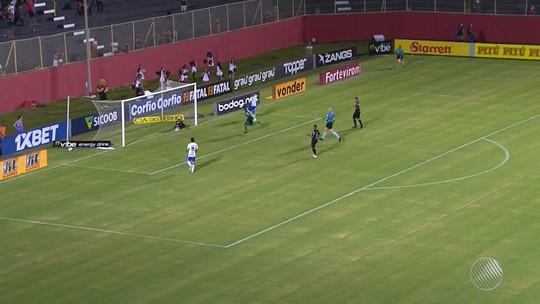 Futebol: Vitória perde para o São Bento no Barradão e se complica na série B