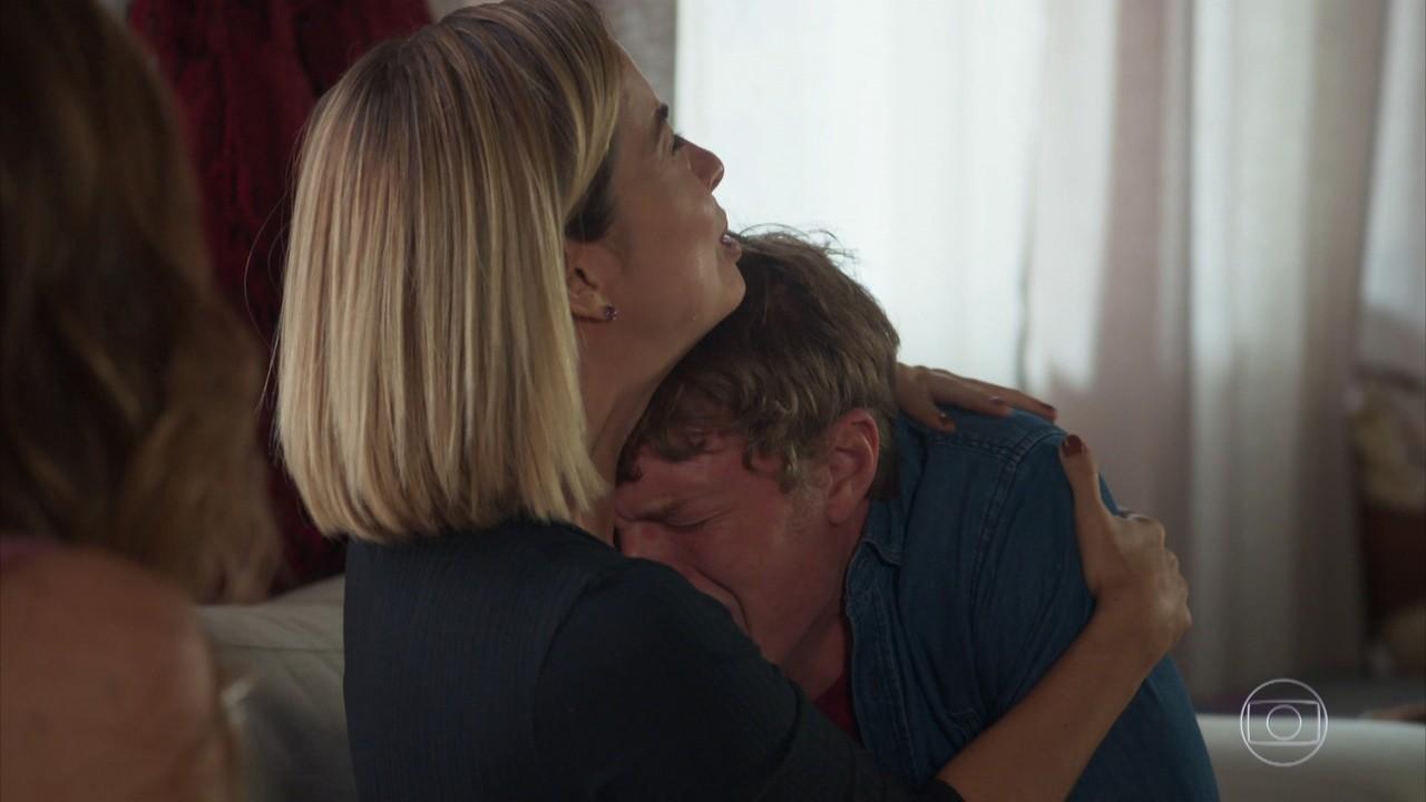 Filipe e Lígia sofrem ao saber da morte de Rita
