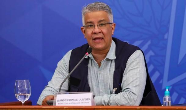 O ex-secretário de Vigilância em Saúde, Wanderson Oliveira