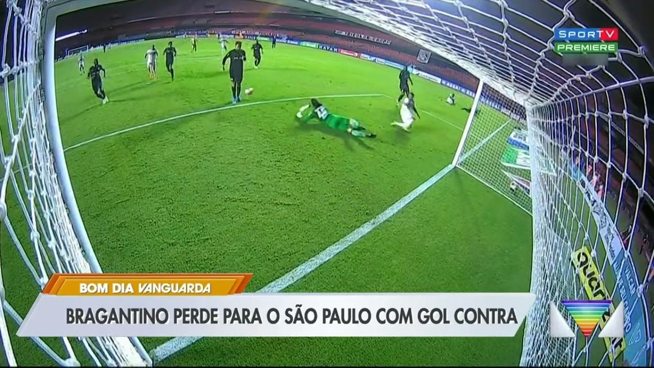 Bragantino perde para o São Paulo no Morumbi
