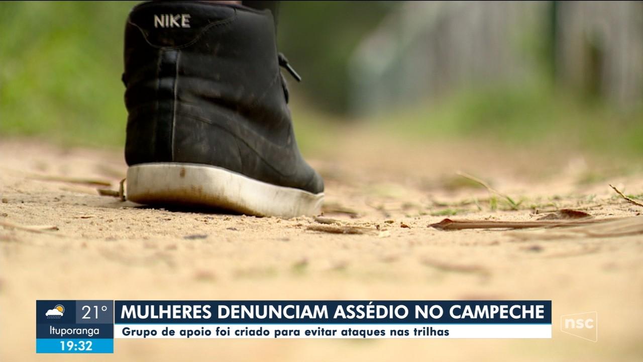 Mulheres denunciam casos de assédio em trilhas da Praia do Campeche, na capital