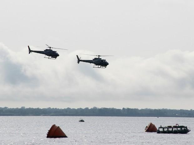 Operação foi realizada na Zona Leste de Manaus nesta sexta (17) (Foto: Camila Henriques/G1 AM)
