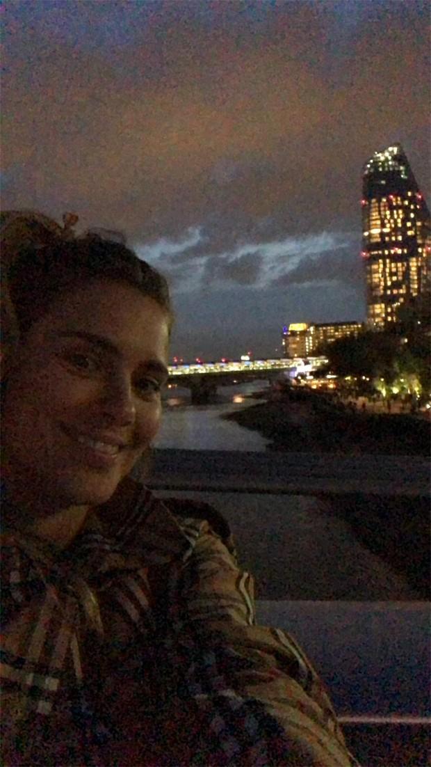 Carolina Dieckmann curte dia em Londres (Foto: Reprodução/Instagram)