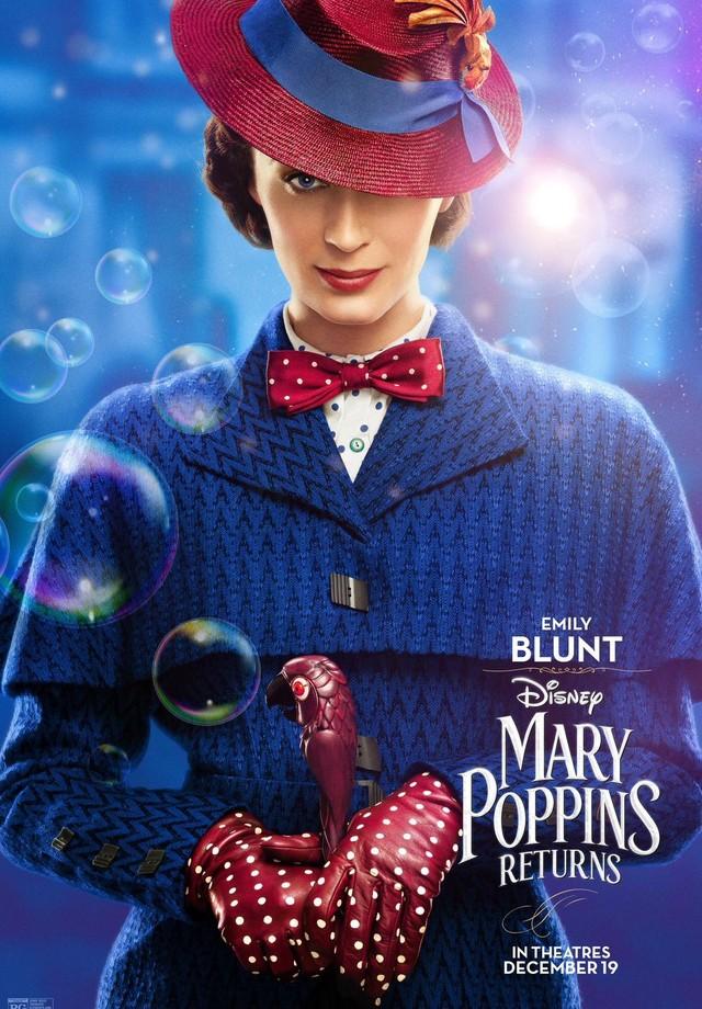 Emily Blunt é Mary Poppins (Foto: Divulgação)