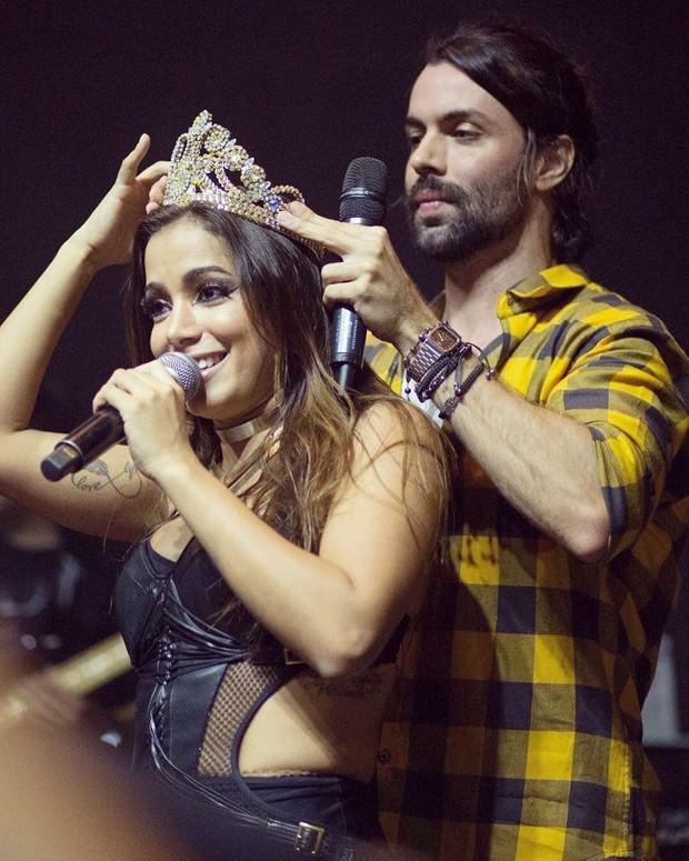 Anitta e Guilherme Acrízio (Foto: Arquivo Pessoal)