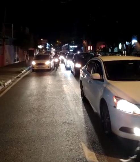 Motoristas de aplicativo protestam contra aumento do preço dos combustíveis em Sorocaba