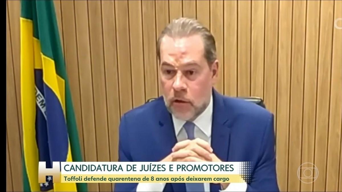 Carreira não pode ser 'trampolim', diz Maia sobre quarentena maior para juiz disputar eleições – G1