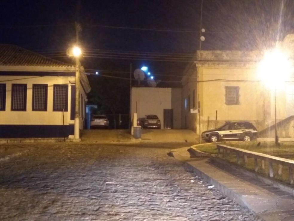 Cadeia em Coração de Jesus foi desativada  (Foto: Ricardo Guimarães/G1)