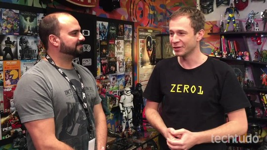 Tiago Leifert fala sobre a nova temporada do Zero1