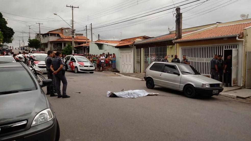 Pai matou os dois filhos a tiro e cometeu suicídio; crime aconteceu em Itatiba (Foto: Cleber Quintino/Arquivo Pessoal)