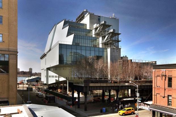 O Whitney Museum é conhecido por sua estrutura ampla e moderna em Nova York (Foto: Divulgação)