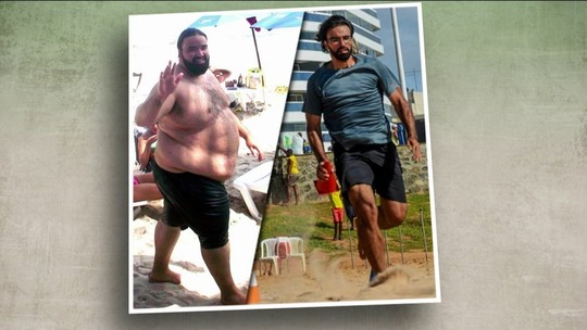Publicitário perde 100kgs naturalmente e quer Ironman