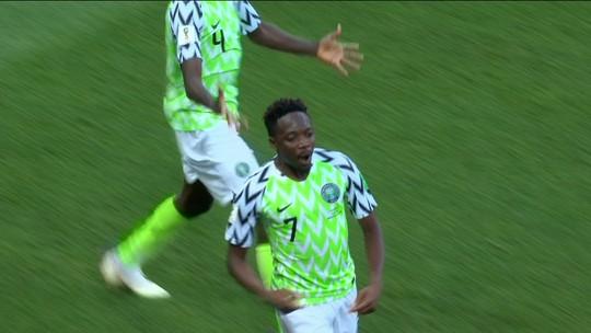 Argentinos vibram em corrente pela Nigéria contra a Islândia