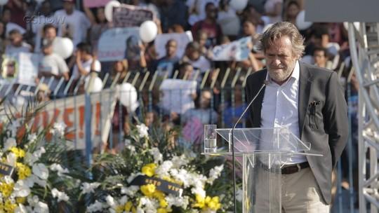 'Segundo Sol': confira os bastidores do velório de Beto Falcão