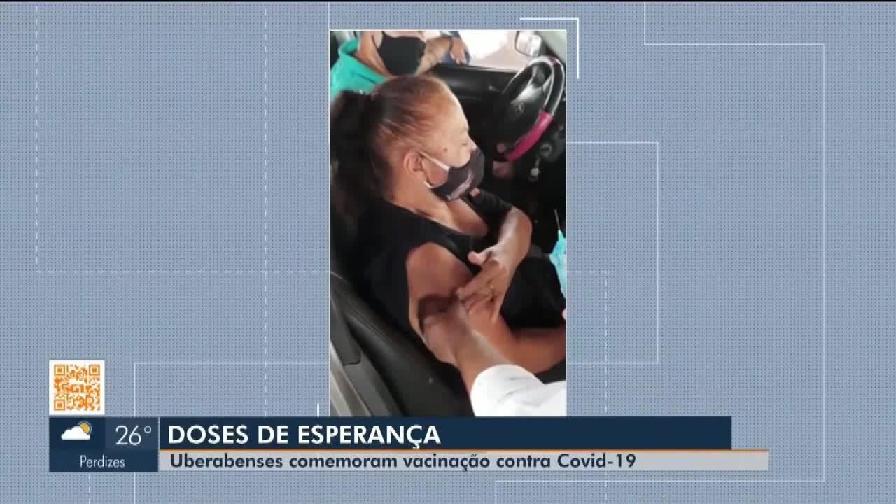 Doses de esperança de sábado (10): veja os vacinados contra a Covid-19 em Uberaba