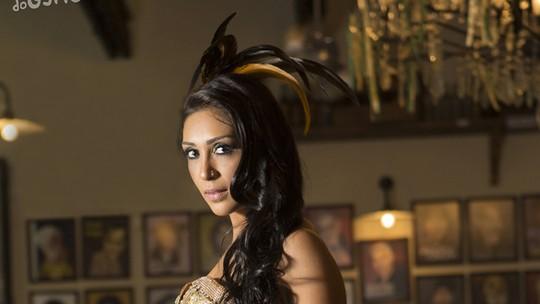 Musa da Gaviões da Fiel, Amanda Djehdian realiza sonho de desfilar  pela primeira vez: 'Muito nervosa'