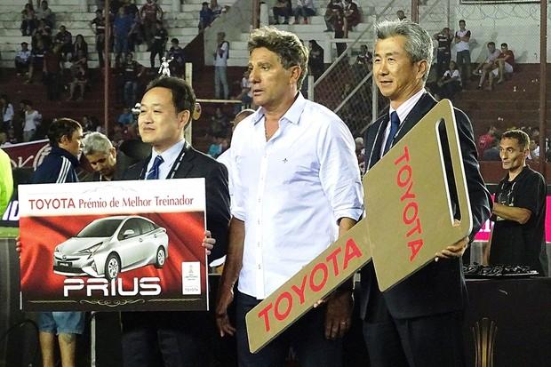 Toyota Prius Libertadores 2017 (Foto: Divulgação/Toyota )
