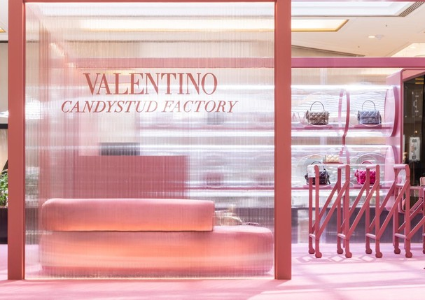 Valentino: Abertura Candystud Factory (Foto: Divulgação)