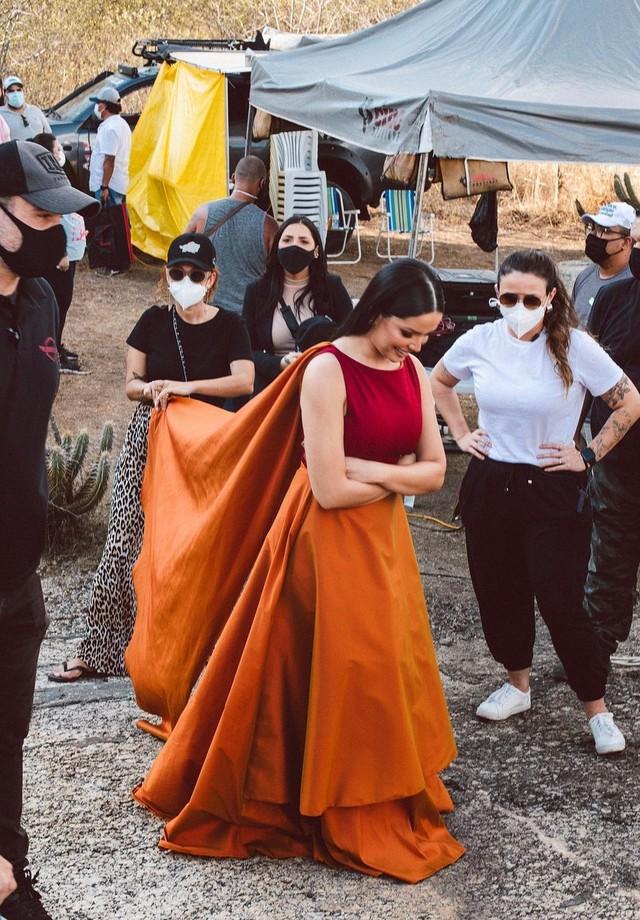 Juliette Freire abre bastidores de shooting com Wesley Safadão (Foto: Reprodução/Instagram)
