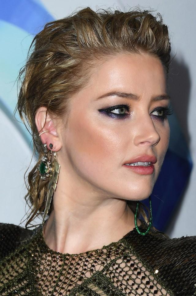 Amber Heard na pré-estreia de Aquaman em Los Angeles (Foto: Getty Images)