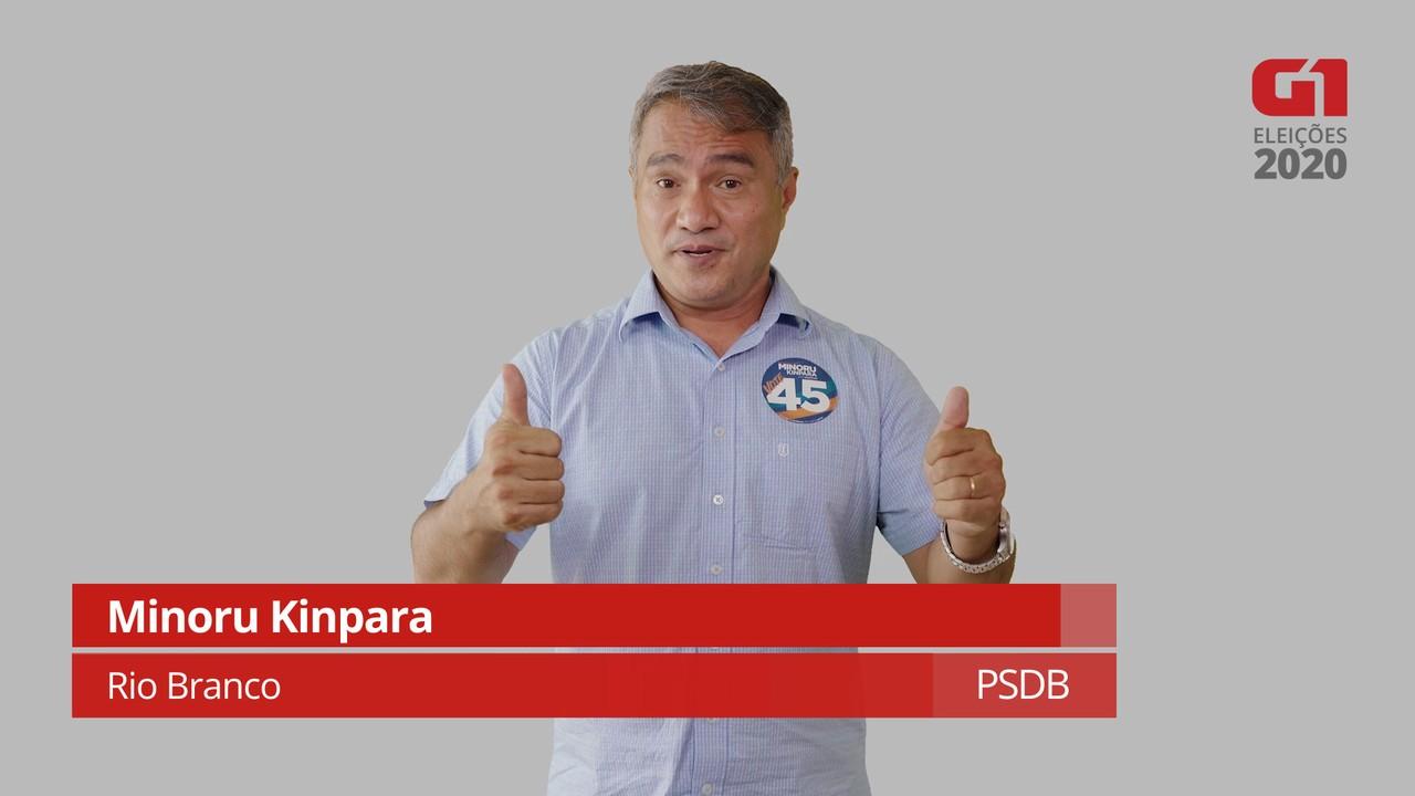 Minoru Kinpara, do PSDB, fala sobre as propostas para o transporte público
