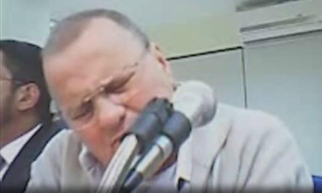 Ex-ministro da Secretaria de Governo, Geddel Vieira Lima (PMDB-BA), chora em audiência