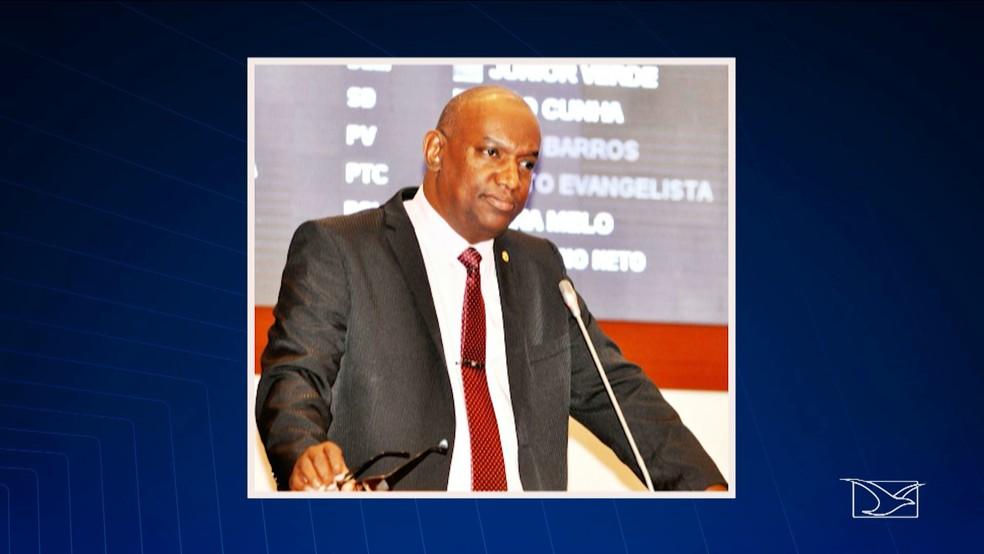 Deputado estadual Cabo Campos é acusado de agressão pela esposa (Foto: Reprodução/TV Mirante)