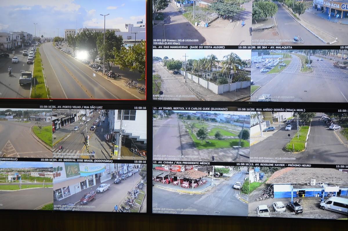 Sistema de videomonitoramento vai ter duas novas câmeras em Cacoal