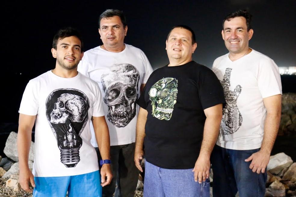A banda O Verbo apresenta o pop rock nacional, na  Vila Azul do Mar. (Foto: Divulgação)
