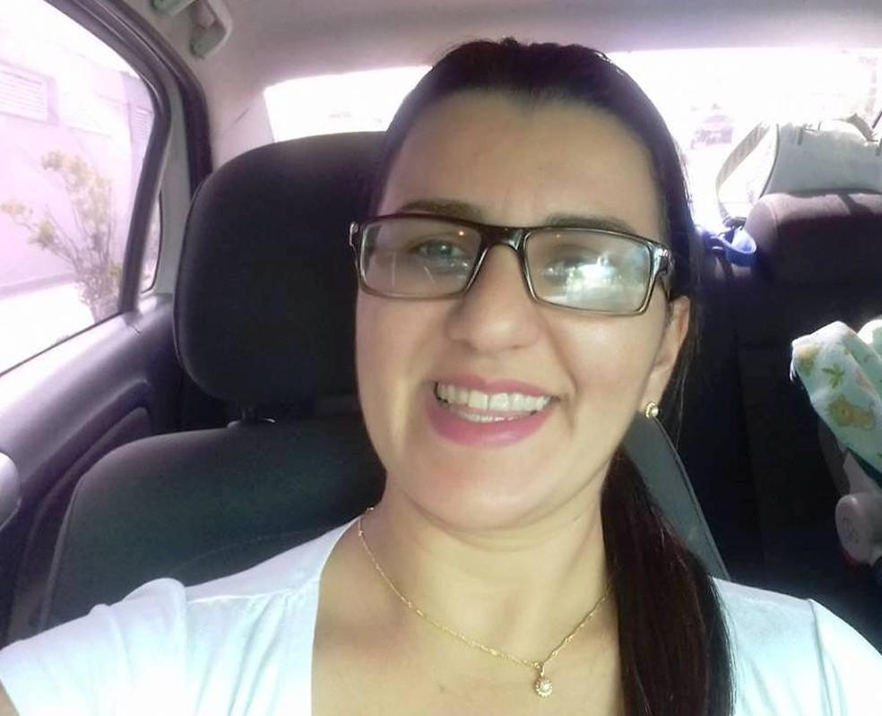 Fernanda Pedroso Calixto, de 36 anos, foi vítima de tentativa de execução, em Peruíbe, SP — Foto: Reprodução/Redes Sociais