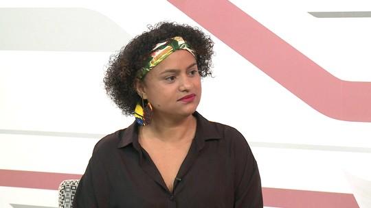 Candidata ao Senado Lídia Brunes é entrevistada pelo G1