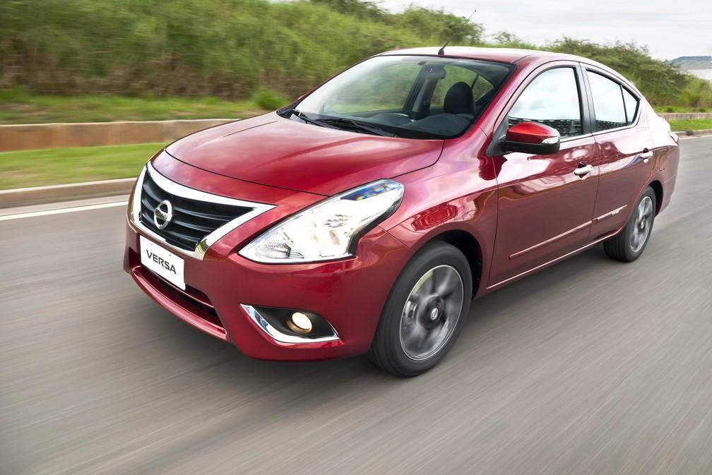 Nissan Versa atual será mantido — Foto: Divulgação