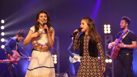 Ex-'The Voice Kids' Rafa Gomes participa de show d'A Banda Mais Bonita da Cidade