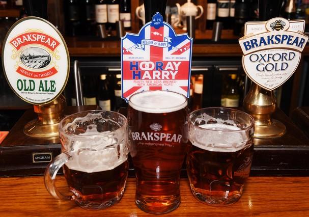 Cerveja criada para o casamento real (Foto: Getty Images)