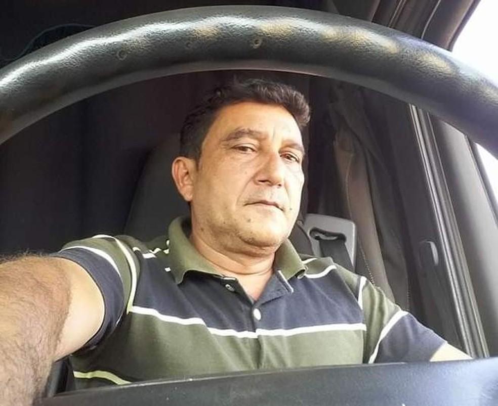 Agnaldo dos Anjos, de 52 anos, era motorista de uma transportadora — Foto: Arquivo pessoal