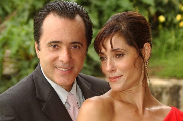 Téo (Tony Ramos) e Helena (Christiane Torloni), de 'Mulheres apaixonadas' (Foto: Divulgação)