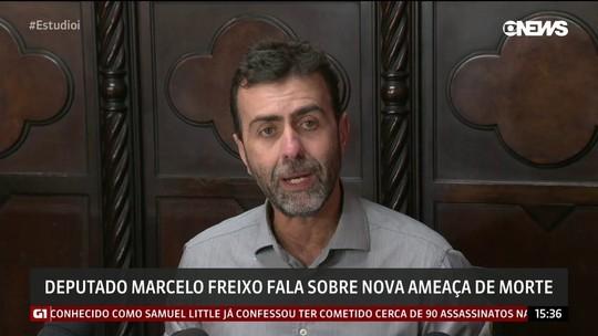 Ameaçado, Freixo diz que milícia não é enfrentada como deveria